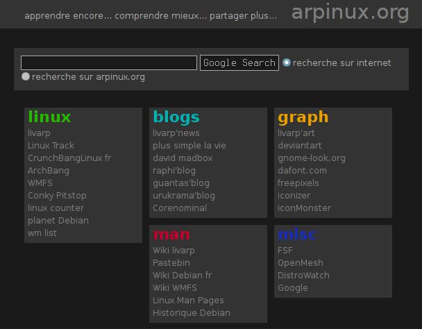 Livarp Help Center - web startpage